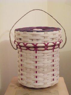 Abenaki made basket