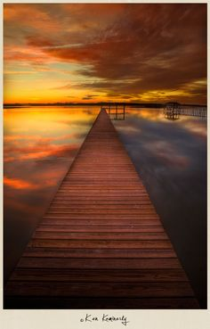 Sittin' On The Dock of the Bay | Sunset near Saint Augustine, Florida