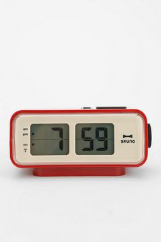 Retro LCD Alarm Clock