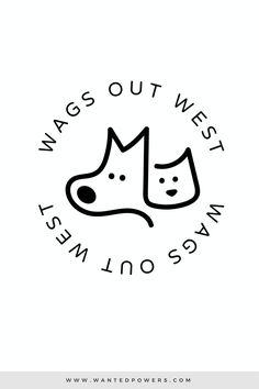 Cute illustrated line art dog and cat logo, perfect for your pet-related business! | Pet Logo, Dog Logo, Cat Logo, Dog Bowtie, Small Business Logo, Branding, Doggie Daycare, Pet Boarding, Dog Bandana Bowtie Boutique, Typography Logo, Dog Illustration, Graphic Design, Pre-made Logo, Animal, Pet Logo Design, Ready Made Logo #doglogo #petlogo #lineart  #graphicdesign #logo #logodesigner #catlogo