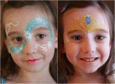maquillage Halloween enfant fille princesse