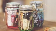 She Makes The Most Clever Mason Jar Gifts—So Much Fun! | DIY Joy Projects and Crafts Ideas