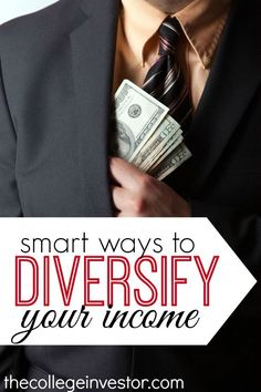 Do you want to build multiple streams of income? Here are six ideas to diversify your income. There is something on this list for everyone. http://thecollegeinvestor.com/16174/6-ideas-to-diversify-your-income/