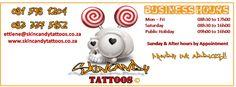 Legitimate Pretoria Candy Tattoo, Skin Candy, Public Holidays, Pretoria, Piggy Bank, Projects To Try, Advertising, Tattoos, Tatuajes