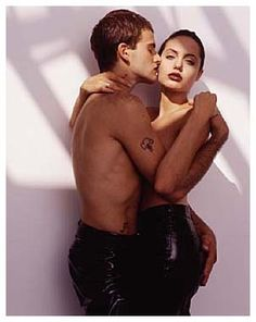Angelina Jolie & Jonny Lee Miller (28 March 1996 - September 1997) | on 3 February 1999 (finalized divorce)