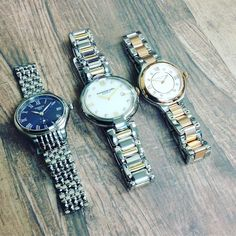 On the third day of Christmas my true love gave to me...three Swiss made watches!  There's still time to get that perfect present #platinum #diamond #emerald #sapphire #ruby #handmade #jewellery #diamondjewellery #gold #berkhamsted #tissot #london #watch #luxury #england #engagementring #wedding #weddingring #baileyandsons #raymondweil #frederiqueconstant #tissot #clogau #bespokejewellery #pendant #ring #bracelet #earrings