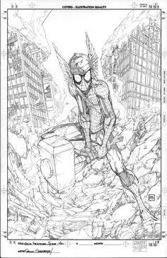 Marvel Adv Spider-Man 40 by PScherberger.deviantart.com on @deviantART