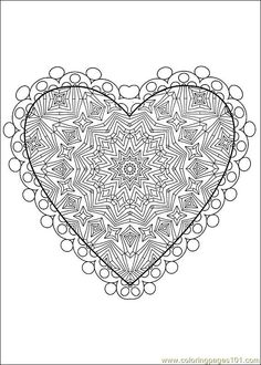 Valentine's Day Coloring Pages | Coloring Pages Valentine Day Coloring 43 (Holidays > Valentine's Day ...