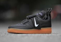 01079eb137374 Nike Air Force 1 Utility Black Gum Release Date - Sneaker Bar Detroit