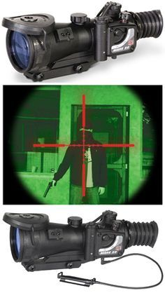 ATN MARS4X-4 Gen 4 Nightvision Weapon Scope