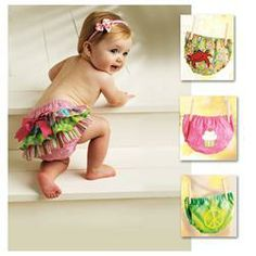 I can make this..  [Ellie Mae Too Cute to Boot Diaper Cover Pattern]
