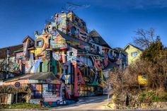Hotel Galéria Spirit in Bratislava, Slovakia! And 16 other surreal buildings around the world!