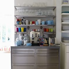 every perfect kitchen would have a coffee bar