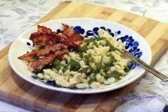 Sałatka śledziowo–ziemniaczana - My Blueberry Corner Risotto, Blueberry, Grains, Rice, Ethnic Recipes, Corner, Food, Berry, Essen