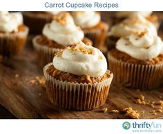This page contains carrot cupcake recipes. A more nutritious and delicious cake can be made with carrots.