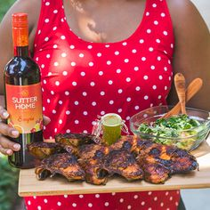 "A refreshing mix of spice and sweetness, Sutter Home Sangria is best paired with fun recipes that combine bold flavors. Visit our blog at SutterHome.com for simple pairings that will make your party guests say, ""Salud!"""