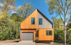 The Matchbox House / Bureau for Architecture and Urbanism, a 4 bedroom 1,700 sf house LEED Platinum