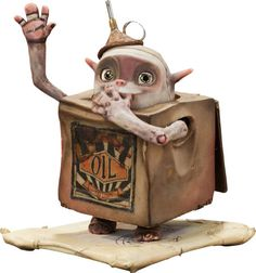 Animation Art:Maquette, The Boxtrolls Oil Can Original Animation Puppet (LAIKA,2014).... Image #1