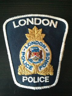 City of London, Ontario Police Department Patch, Canada Law Enforcement Badges, Law Enforcement Officer, Military Police, Police Officer, Police Cars, Police Badges, Fire Badge, London Police, Police Uniforms