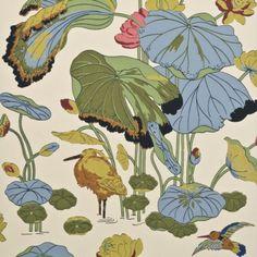 G P & J Baker NYMPHEUS WALLPAPER ORIGINAL Wallpaper