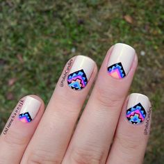 pretty tribal nails