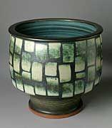 Harrison McIntosh (United States, born 1914) Bowl, circa 1977Ceramic, Stoneware