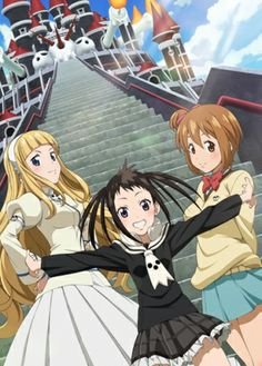 Soul Eater Not! Started watching it last night(need to start the manga). So far I like it, nice to see the DWMA or Shibusen from another perspective.-AMR