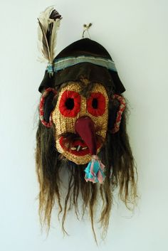 Traditional Romanian mask at the Nicolae Popa museum Anul Nou, Book Aesthetic, Points, Pagan, Carpets, Art Reference, Dream Catcher, Ethnic, Sketches