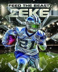 Offensive Beast!! Go Zeke!!