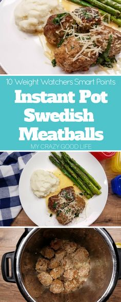 While this recipe will save you some calories, it doesn't compromise taste! It's the perfect Weight Watchers dinner recipe, just 10 Smart Points per serving. Weight Watchers Swedish Meatballs   21 Day Fix Swedish Meatballs   Healthier Swedish Meatballs