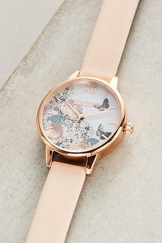Enchanted Garden Watch - anthropologie.com