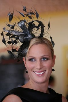 Zara Phillips -  I love this fascinator!