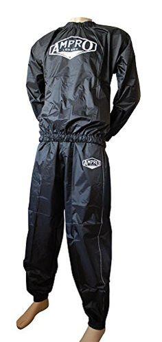 nice Ampro Pro Nylon Sauna Sudor Suit-Formación/Fitness/perder peso Adelgazante/Ejercicio/sauna/sweatsuit/Running