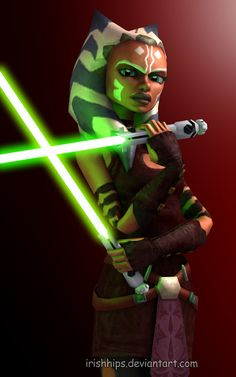 ahsoka | Ahsoka Tano: Confident by ~Irishhips on deviantART