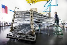 James Webb Space Telescope Sunshield Test Unfolds Seamlessly | NASA