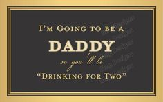 Items similar to New Daddy Liquor Label Personalized Labels You're Going to be a Daddy Liquor Label on Etsy