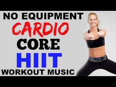 Cardio and Abs Fat Burning HIIT Workout, No Equipment, Fat Burning Workout - YouTube