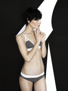 UNDRESS CODE campaign #bewellundressed #undresscode #uc #lingerie