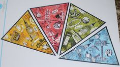 Paperminutes - Wimpel/pennants  by mamapia
