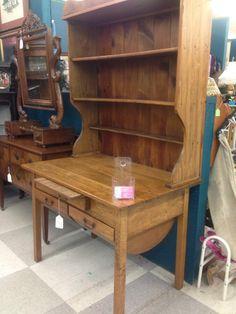 Antique Hoosier Cabinet & Baker's Table EUC   Antique furniture ...