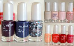 New Gel Effect Nail Polishes by beauty blogger Annica Englund #nailpolish #lumene
