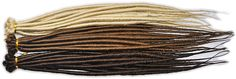 Dreadlock Extensions Twisted 10 Pack