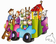 Ut unum sint: Ascensión. Haced discípulos a todos pues todos caben en la Iglesia Religion Catolica, Kids Church, Bible Stories, Bowser, Princess Peach, Cool Things To Buy, Superhero, Humor, Fictional Characters
