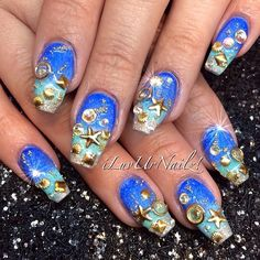 Under The Sea Golden Bling… Inspired by the fabulous ...