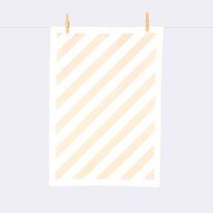Stripe Tea Towel by ferm LIVING