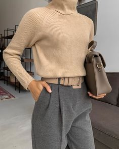 Stylish Work Outfits, Cute Casual Outfits, Warm Outfits, Chic Outfits, Fashion Outfits, Womens Fashion, Fashion Trends, Fashion Clothes, Latest Fashion