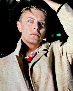 David Bowie, 1985 by Chalkie Davies.