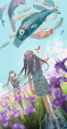 Anime Angel, Anime Demon, Manga Anime, Anime Oc, Demon Slayer, Slayer Anime, Anime Siblings, Film D'animation, Hisoka