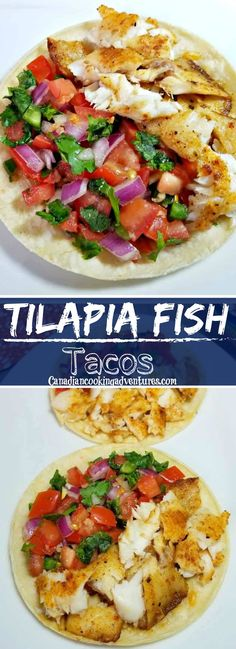 Fish Dishes, Seafood Dishes, Seafood Recipes, Paleo Recipes, Mexican Food Recipes, Cooking Recipes, Cooking Fish, Ethnic Recipes, Tilapia Tacos