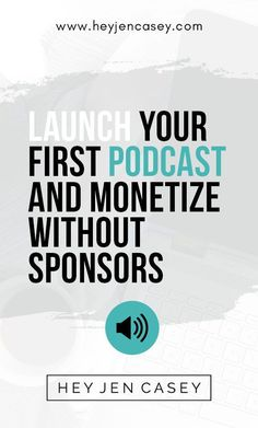 Launch Your First Podcast & Monetize without Sponsors Business Entrepreneur, Business Tips, Online Business, Business Quotes, Quotes Thoughts, Life Quotes Love, Quotes Quotes, Someone Special Quotes, Podcast Topics